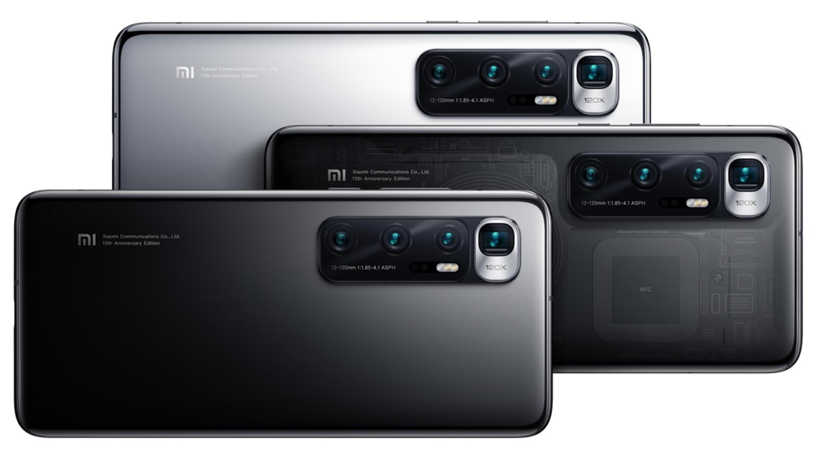 شاومي تكشف عن هاتفها الراقي Mi 10 Ultra بقدرة تكبير هجين ×120