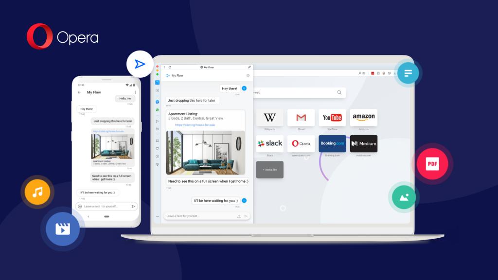 يوفر متصفح Opera تجربة Android محسّنة ويدعم تدوين الملاحظات بأمان