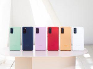 سامسونج تكشف عن Galaxy S20 FE بشاشة بتحديث 120 هرتز ودعم الجيل الخامس