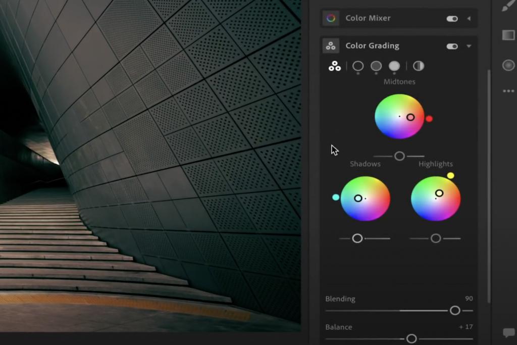 محرر الصور Lightroom من أدوبي سيحصل على لوحة تدرج ألوان بنمط سينمائي