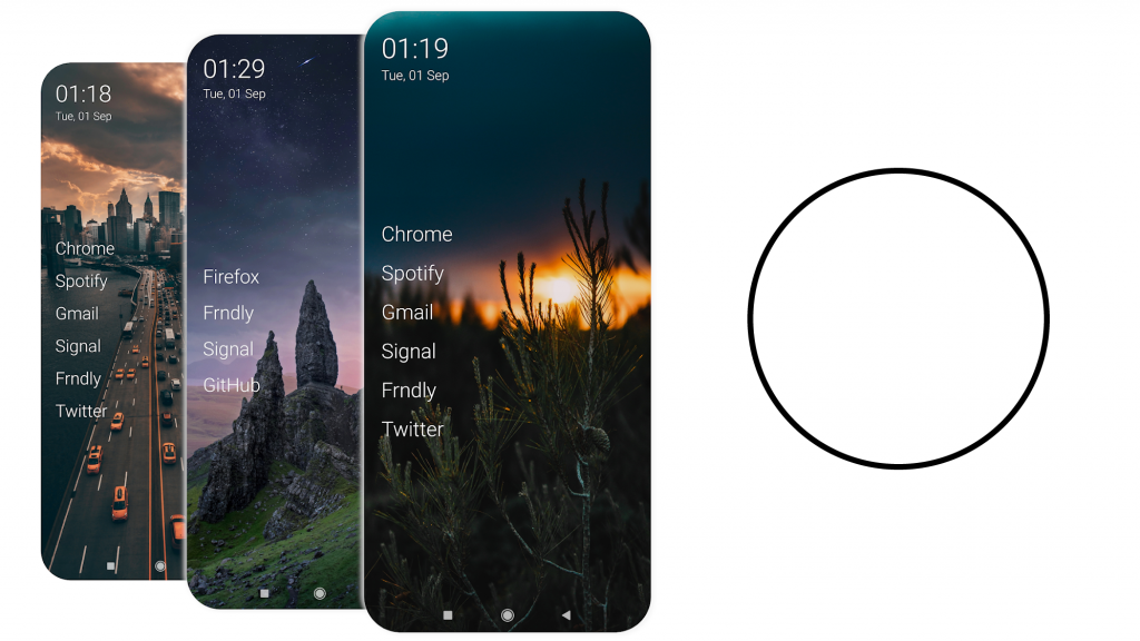 The new Olauncher launcher gives you a more than simple look on Android