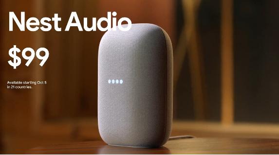 مؤتمر جوجل: الكشف عن Chrome Cast جديد والمساعد المنزلي Nest Audio