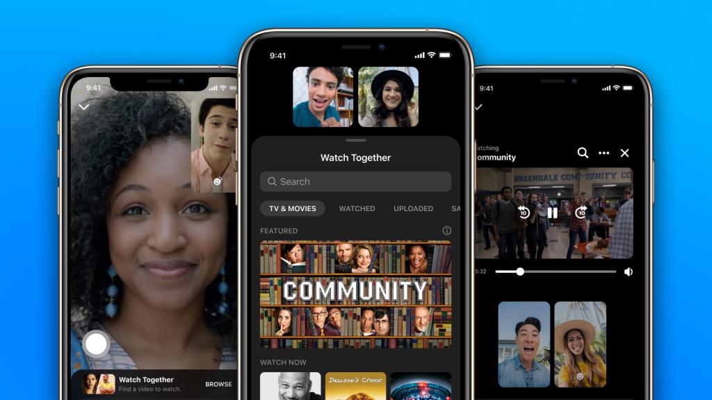 فيس بوك تأتي بميزة Watch Together لمستخدمي تطبيق ماسنجر