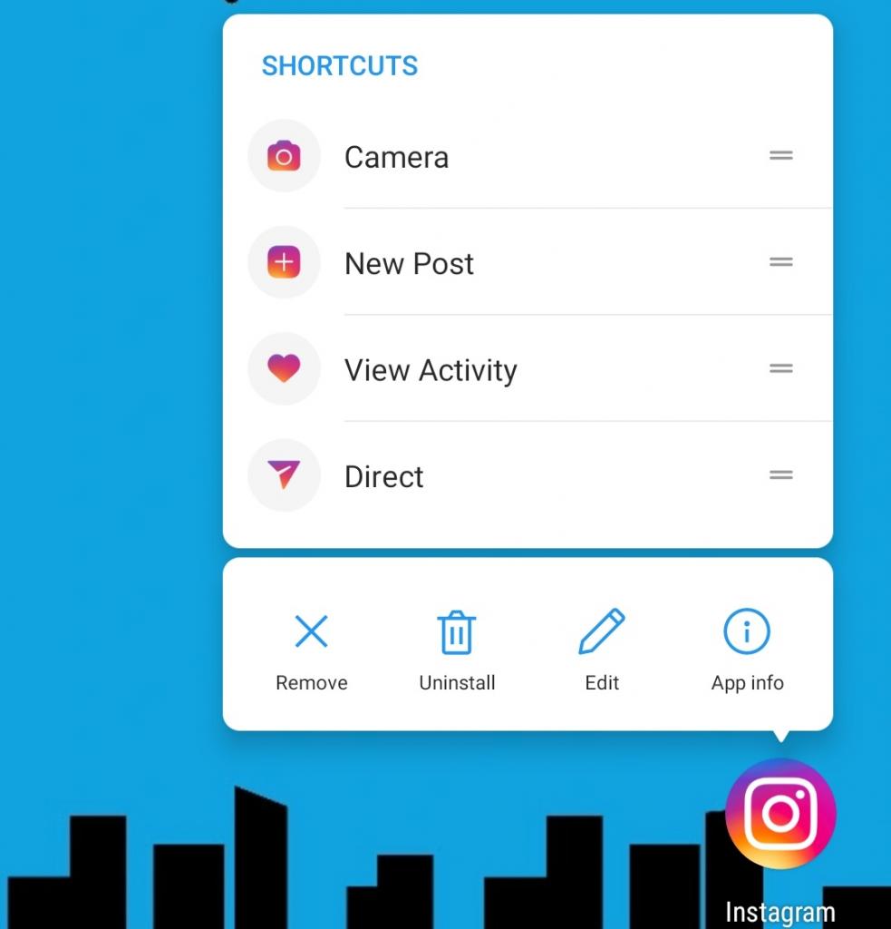 انستجرام يدعم أخيرًا ميزة اختصارات التطبيقات وللجميع - Instagram