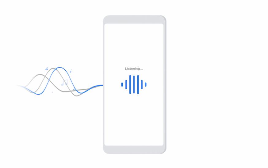 يأتي بحث Google والمساعد مع التعرف على الموسيقى