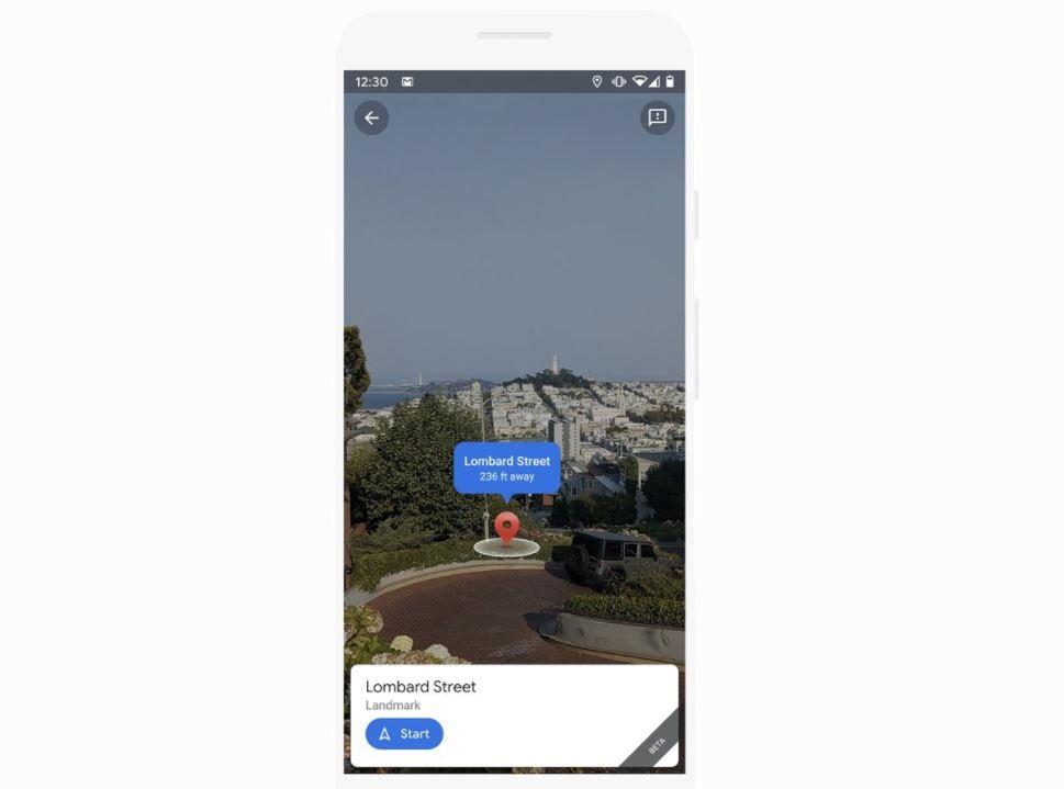تقوم خرائط Google بتحديث AR Live View بحيل التعلم الذكية