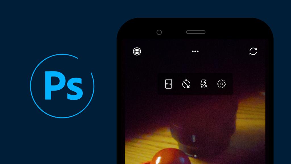 تقوم Adobe بتحديث تطبيق Photoshop Camera لدعم العد التنازلي وتبديل الكاميرا