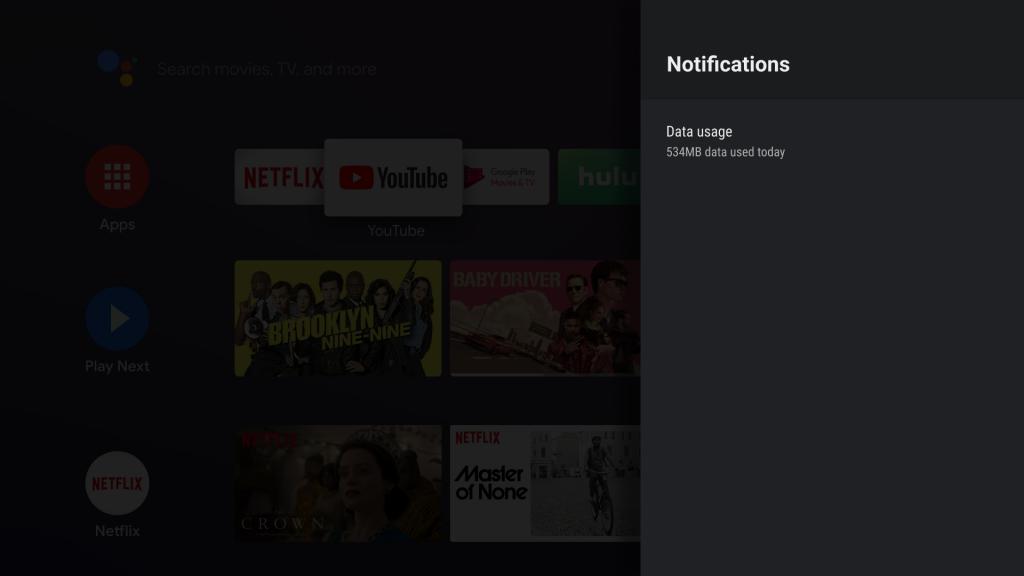 Android TV Data Saver مجرد تطبيق موفّر للبيانات على أجهزة تلفاز أندرويد