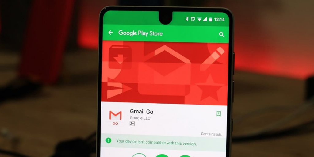 مرة أخرى جوجل تقيد تطبيقها Gmail Go لغير الهواتف الضعيفة
