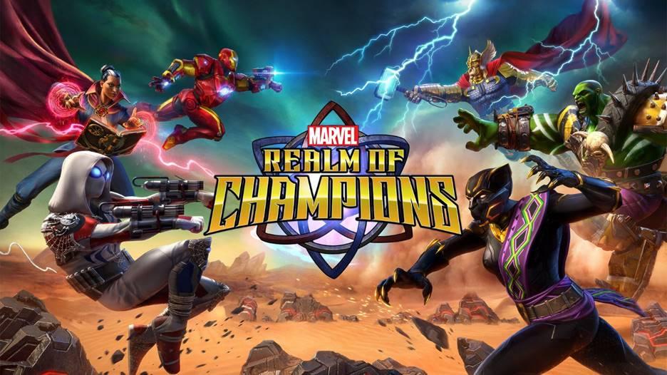 صورة أخيرًا لعبة Marvel Realm of Champions متاحة الآن للتسجيل المسبق