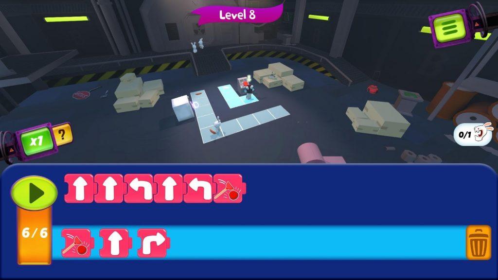 Rabbids Coding لعبة مجانية جديدة لتعلم البرمجة على أندرويد و iOS