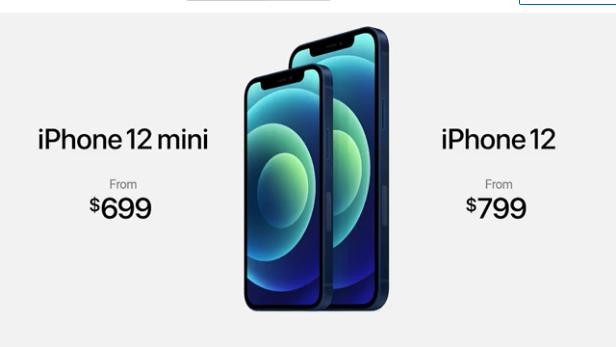 سعر هواتف آبل 12 و12 ميني