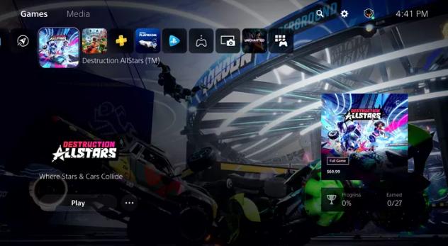 """سوني تكشف عن واجهة المستخدم الجديدة في بلايستيشن 5 """"PS5"""""""
