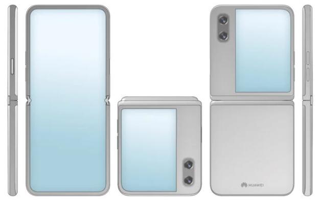 هواوي تسجل براءة اختراع لهاتف قابل للطي جديد