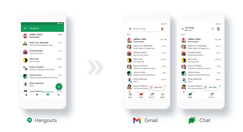 جوجل تعتزم إتاحة تطبيق الدردشة الخاص بالشركات لكافة مستخدمي جيميل - Chat