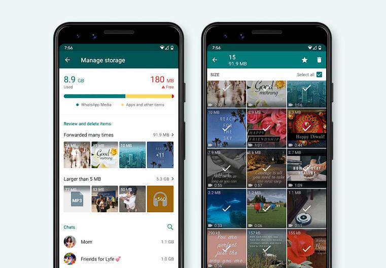 يجلب WhatsApp مدير تخزين جديدًا ينظف الملفات غير المرغوب فيها بسرعة