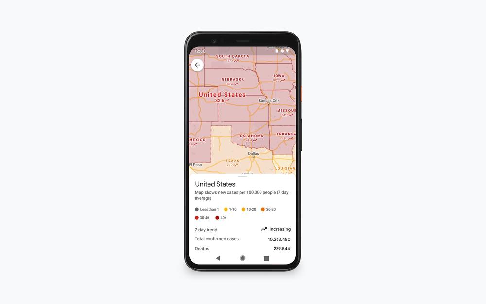 خرائط جوجل تأتي بالمزيد من ميزات التنقل في الوباء