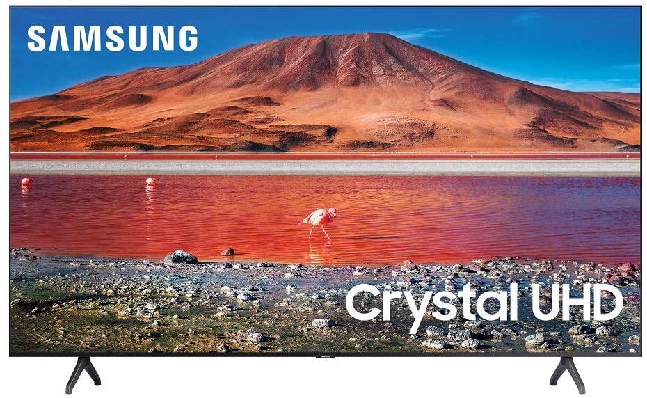 تلفزيون سامسونج Crystal UHD بدقة 4K وقياس 58 بوصة