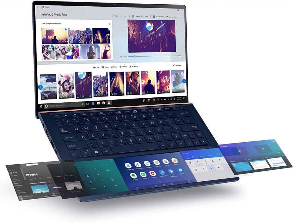 حاسوب أسوس المحمول الأنيق Asus ZenBook 13 Ultra-Slim - عروض امازون
