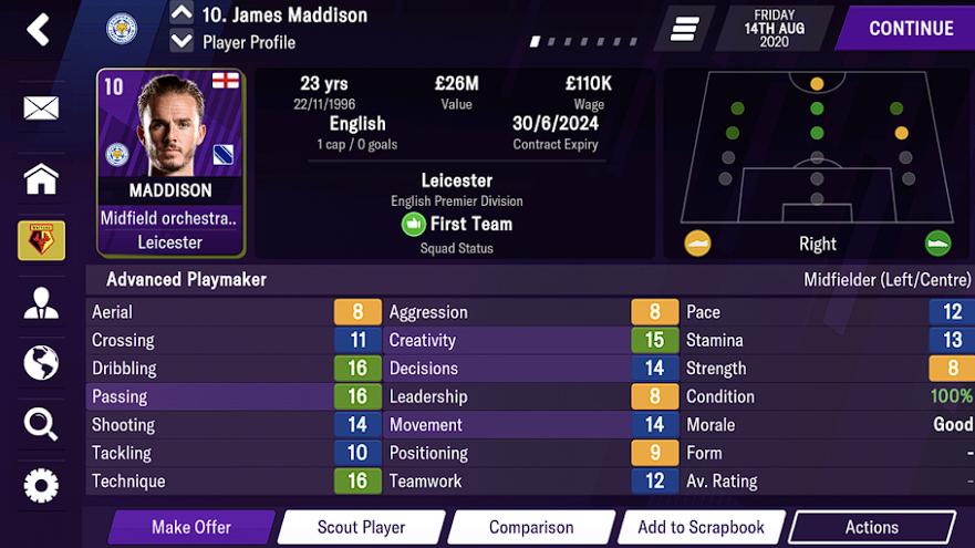 Footballmanager 2021