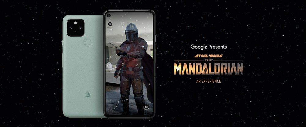 جوجل تقدم تجربة Mandalorian AR