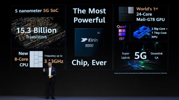 هواوي P50 سيحمل معالج كيرين 9000 وشاشة OLED كورية