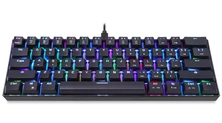 لوحة مفاتيح موتو سبيد الميكانيكية Motospeed CK61