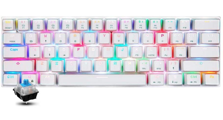 لوحة مفاتيح موتو سبيد الميكانيكية Motospeed CK62