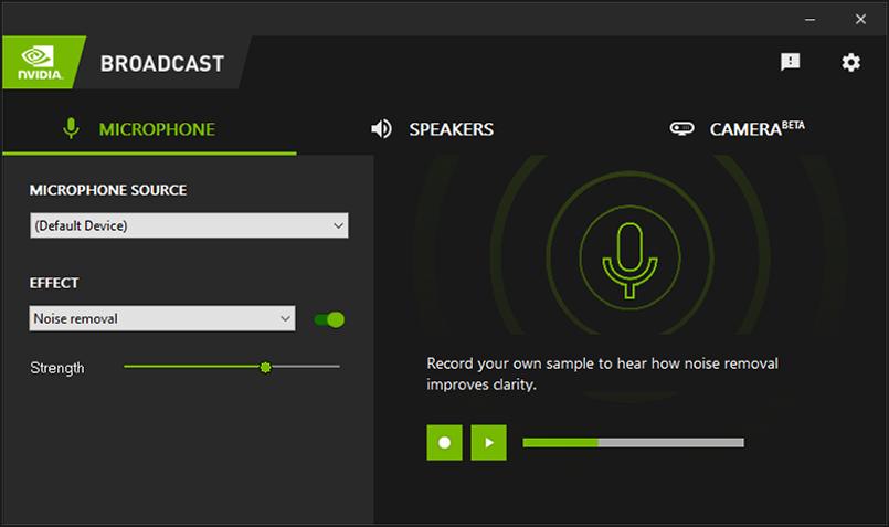 تطبيق إنفيديا Nvidia Broadcast يساعدك بتحويل أي مكان إلى استديو بث بفضل الذكاء الاصطناعي