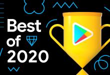 الإعلان عن أفضل التطبيقات والألعاب في متجر جوجل بلاي لعام 2020