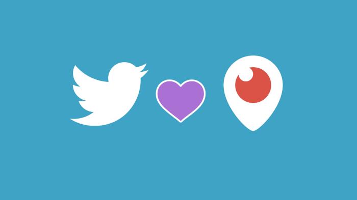 تويتر تحدد 31 مارس المقبل كنقطة النهاية في مسيرة تطبيق البث بيرسكوب