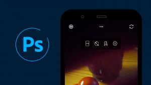 الوضع المظلم يصل تطبيق فوتوشوب كاميرا من أدوبي وهناك أداة قص جديدة