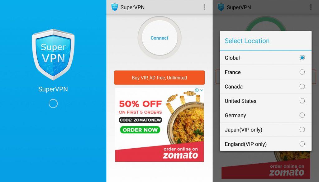 5.SuperVPN Free VPN Client -