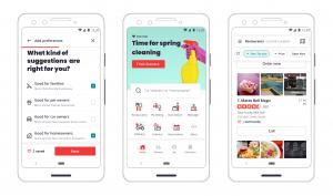إعادة تصميم تطبيق Yelp مع تركيزه أيضًا على احتياجات المستخدم