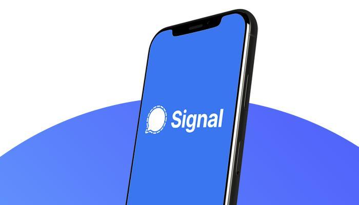 تطبيق سيجنال Signal يترأس قائمة المخططات على متاجر التطبيقات