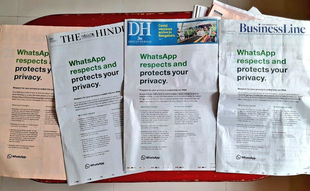 يواصل WhatsApp جهوده لمنع المستخدمين من الانتقال إلى خدمات أخرى