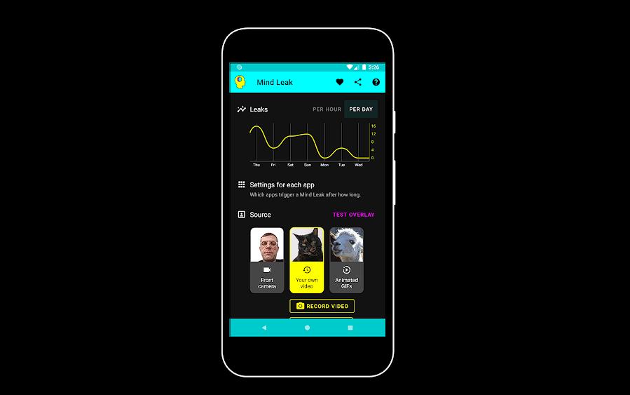Mind Leak أحد تطبيقات الرفاهية الرقمية والإبداعية
