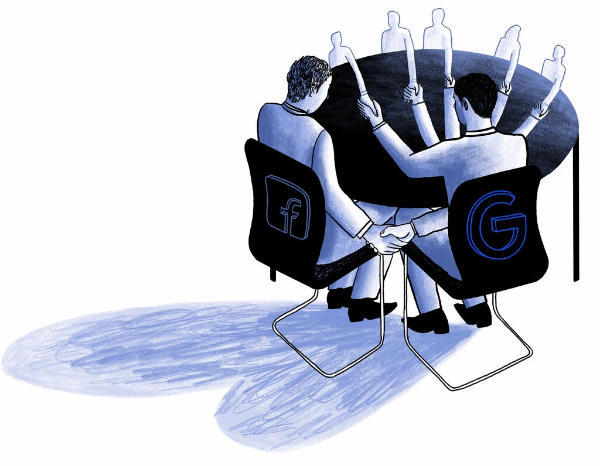 تكساس تقاضي جوجل وفيس بوك بسبب صفقة احتكارية في سوق الإعلانات