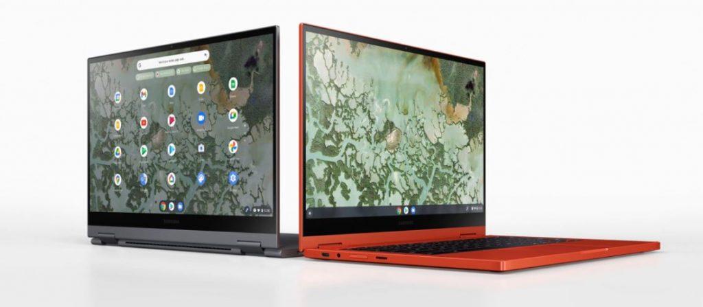 سامسونج تكشف عن Galaxy Chromebook 2 بشاشة QLED