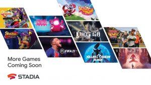 جوجل تضيف أكثر من 100 لعبة جديدة لخدمة ستاديا بينها فيفا 21 - Stadia