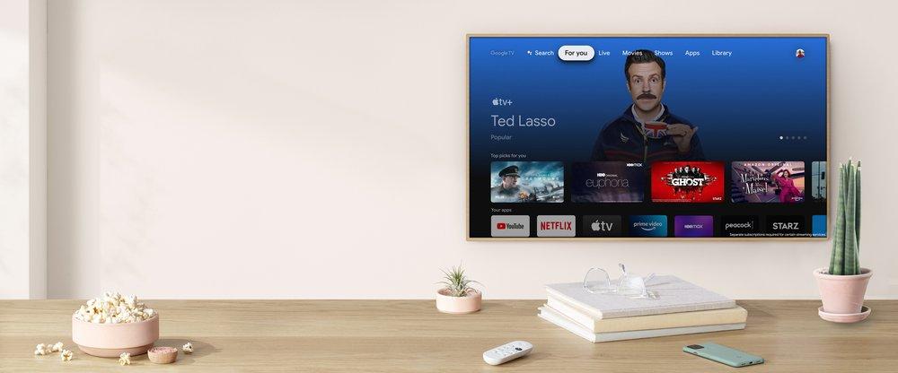 خدمة آبل لبث المحتوى أصبحت متاحة الآن على أجهزة جوجل كروم كاست - Apple TV+ - Google TV