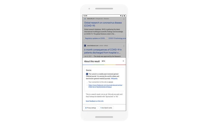 بحث جوجل سيخبرك بمعلومات عن الموقع قبل زيارته