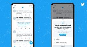 تويتر تضع إشعارات على التغريدات التي تحوي معلومات مضللة حول لقاحات كوفيد_19