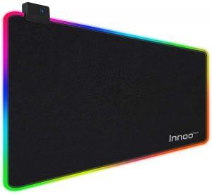 قاعدة ماوس ألعاب مع ألوان RGB من انو تك