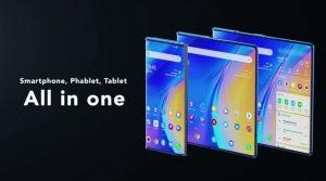 شركة TCL تكشف عن نموذج لجهاز بشاشة قابلة للطي واللف يتحول من هاتف لجهاز لوحي
