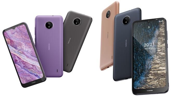 Nokia C10 و C20