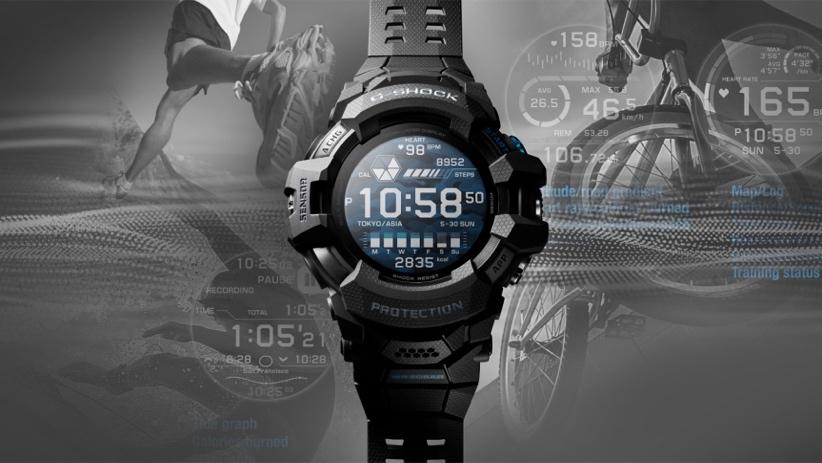 كاسيو تطلق أول ساعة من سلسلة G-Shock بنظام Wear OS - G-Squad GSW-H1000