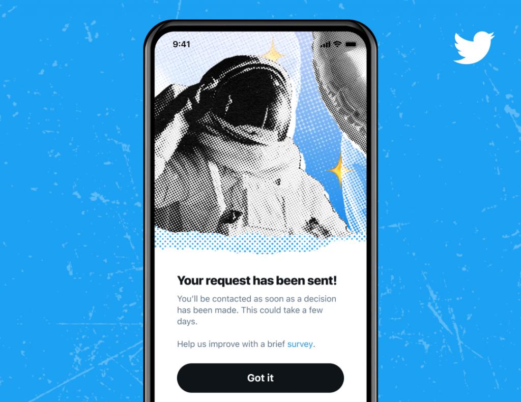 تويتر تغلق باب استقبال طلبات التوثيق للجمهور بعد 8 أيام على فتحه