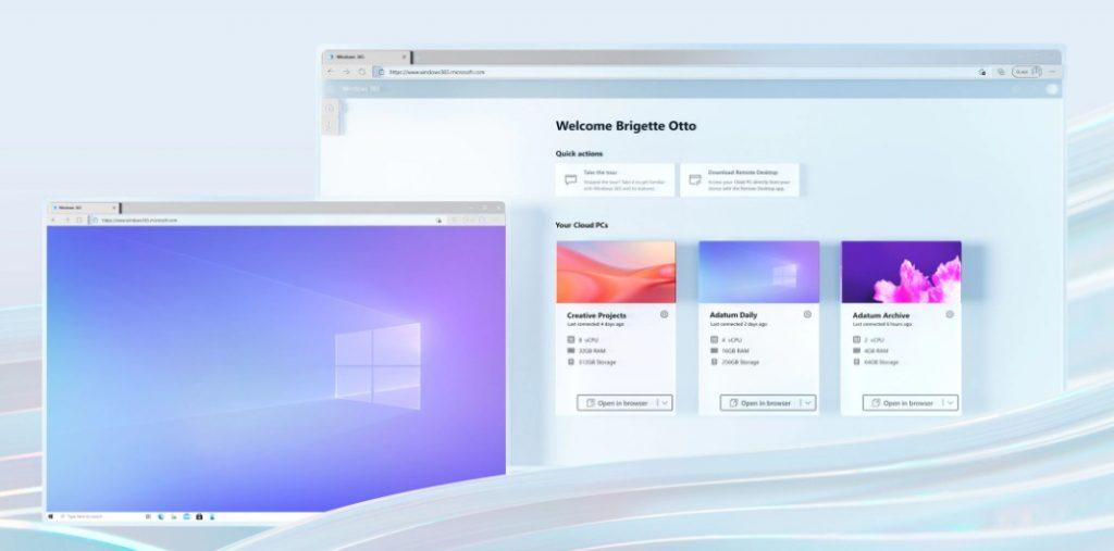 مايكروسوفت تكشف عن نسخة ويندوز 10 سحابية تحت اسم Windows 365
