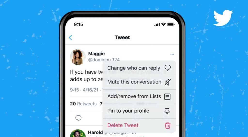 تويتر ستسمح للمستخدمين التحكم بمن يمكنه الرد على التغريدات بعد نشرها